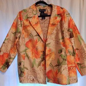 2 pc Susan Graver Jacket With Shirt XL